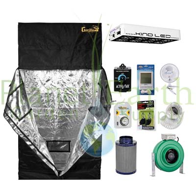 Gorilla Grow Tent 2 x 4 450W LED Package