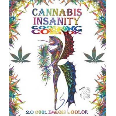 Cannabis Insanity Cool Coloring Book