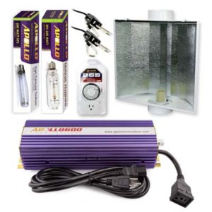 Apollo Horticulture MH HPS system with air cooled reflector