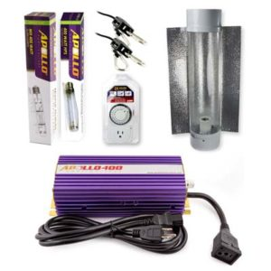 Apollo Horticulture MH HPS system with cool tube reflector