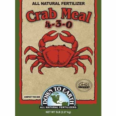 Down To Earth Crab Meal Fertilizer