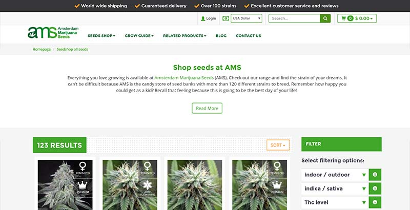 how to order cannibus seeds safely online
